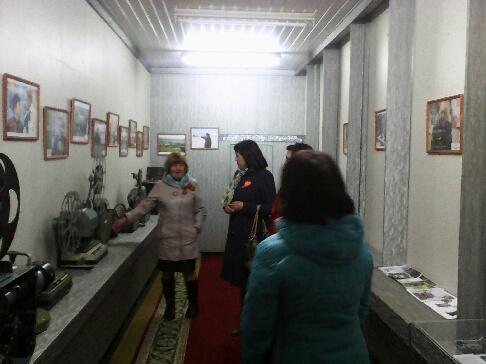 Учителя на выставке