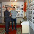 А.Бабиков в зале Боевой и Трудовой Славы